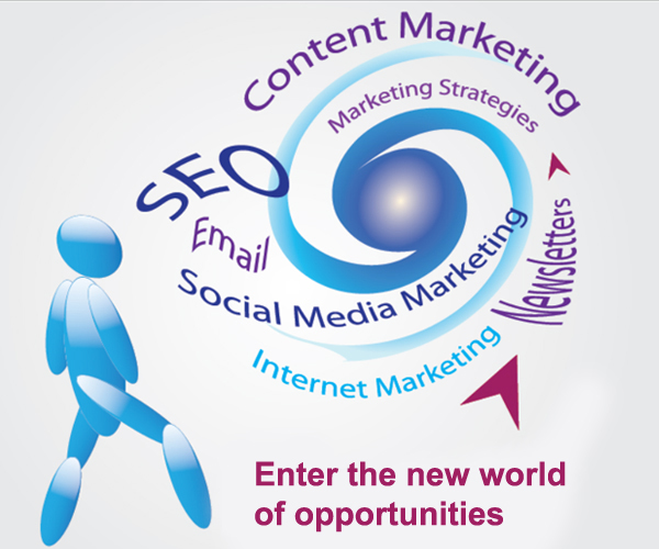 SEO, Content Marketing, Newsletters, internet marketing, social media marketing